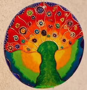 "Mandala ""Drzewo Słońca"""