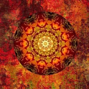 Tibetan Mandala by Larian Galleries