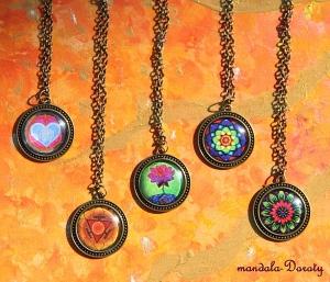 Medaliony z Mandalami-Doroty.